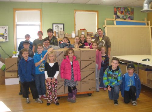 School Kits from Missions Program donated to MCCO