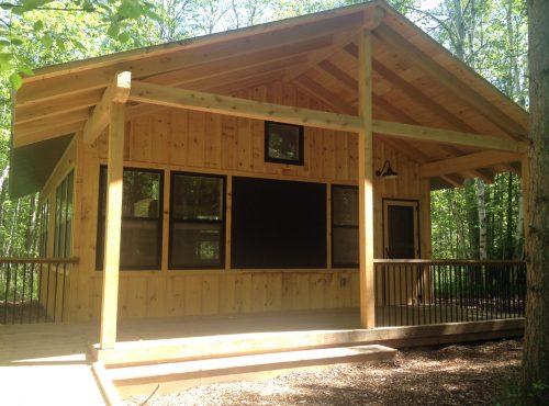 New Juniper Cabin is Ready!